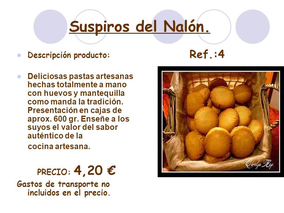 Suspiros del Nalón. Descripción producto: Deliciosas pastas artesanas hechas totalmente a mano con huevos y mantequilla como manda la tradición. Prese