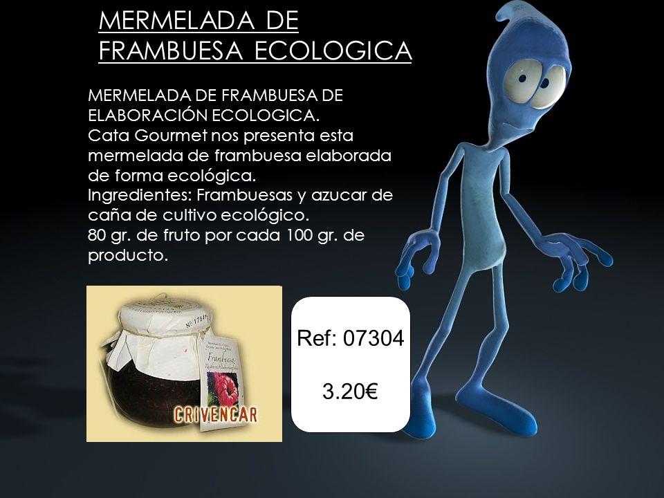 MERMELADA DE FRAMBUESA ECOLOGICA MERMELADA DE FRAMBUESA DE ELABORACIÓN ECOLOGICA.
