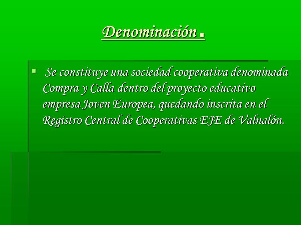 Domicilio.La empresa se encuentra en el C.P.E.B de Cerredo.
