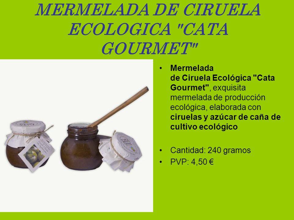 MERMELADA DE CIRUELA ECOLOGICA