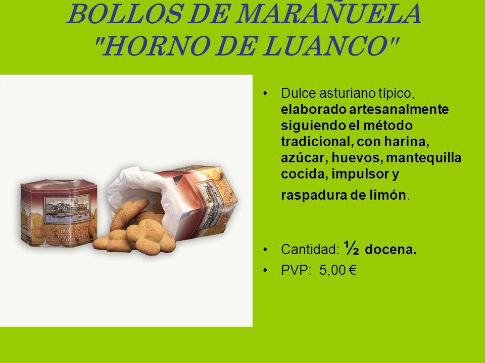 BOLLOS DE MARAÑUELA