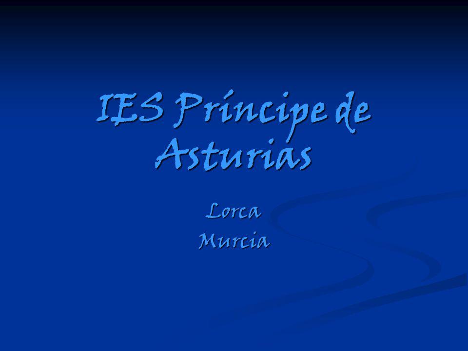 IES Príncipe de Asturias LorcaMurcia