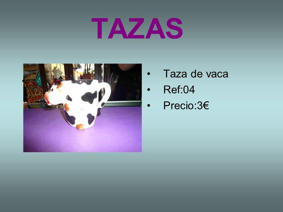 TAZAS Taza de vaca Ref:04 Precio:3