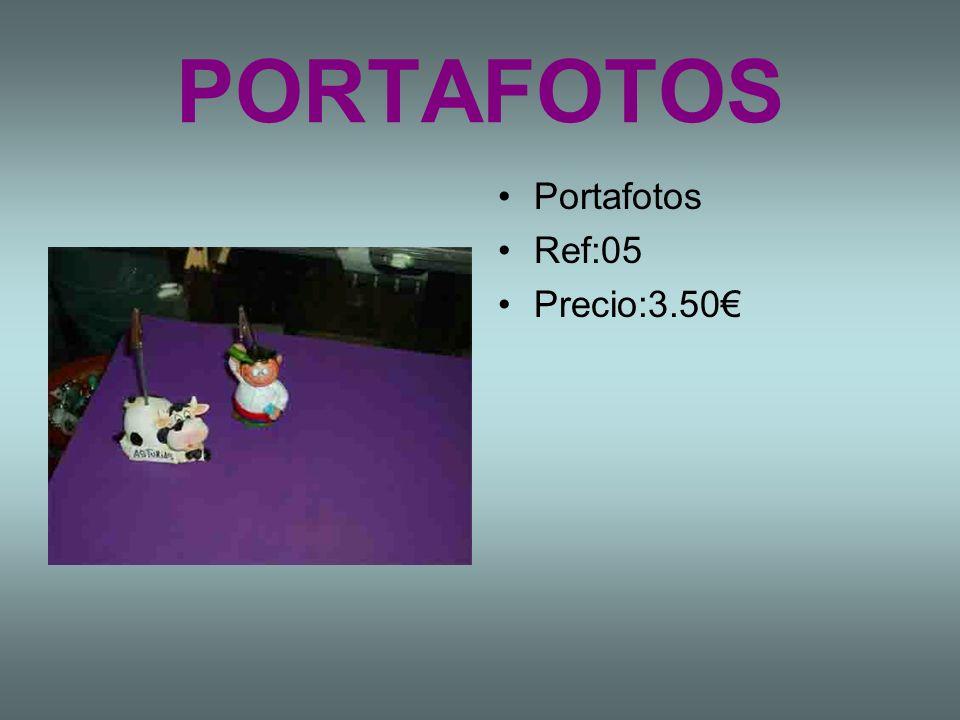 PORTAFOTOS Portafotos Ref:05 Precio:3.50