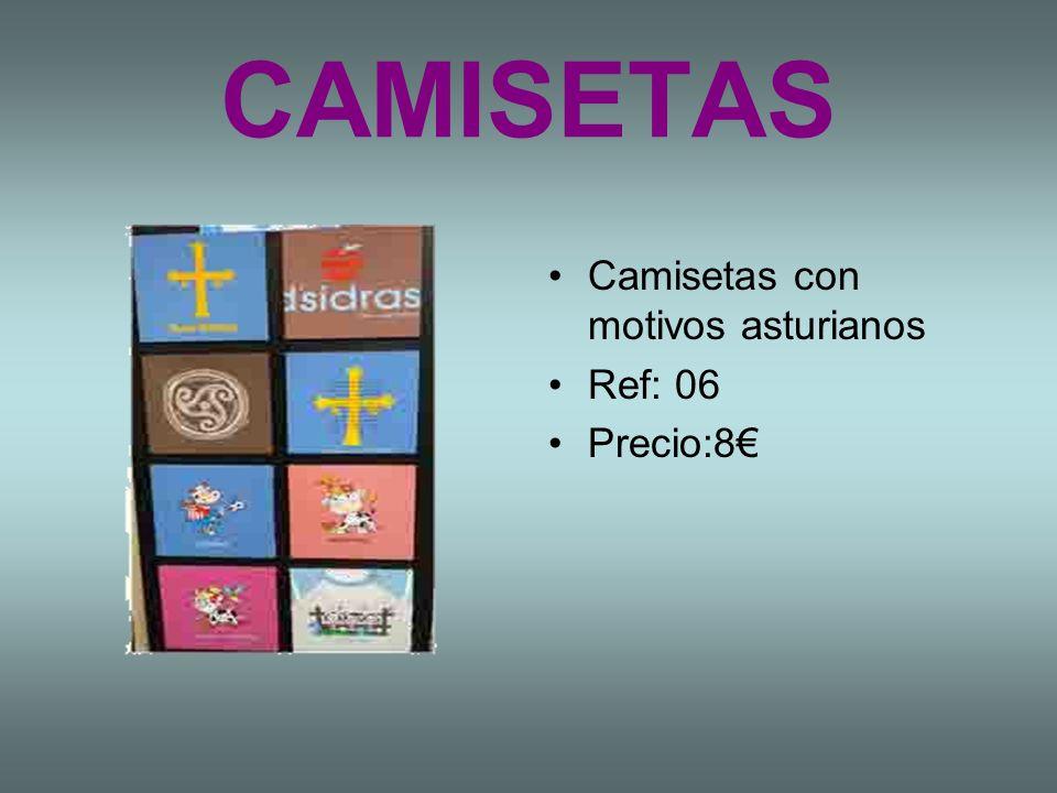 CAMISETAS Camisetas con motivos asturianos Ref: 06 Precio:8