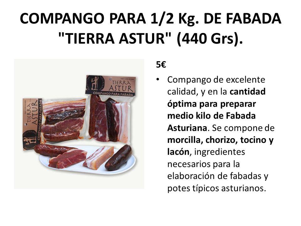 COMPANGO PARA 1/2 Kg. DE FABADA