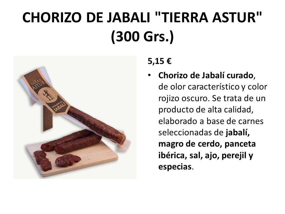 CHORIZO DE JABALI