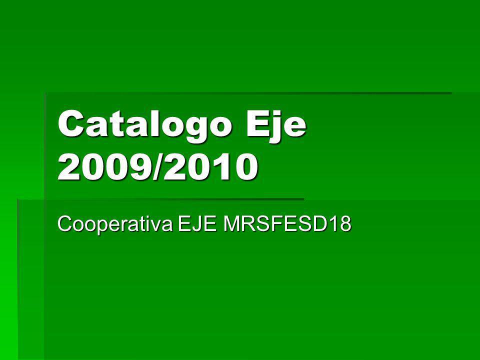 Catalogo Eje 2009/2010 Cooperativa EJE MRSFESD18