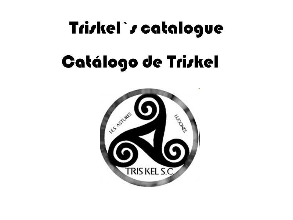 Triskel`s catalogue Catálogo de Triskel
