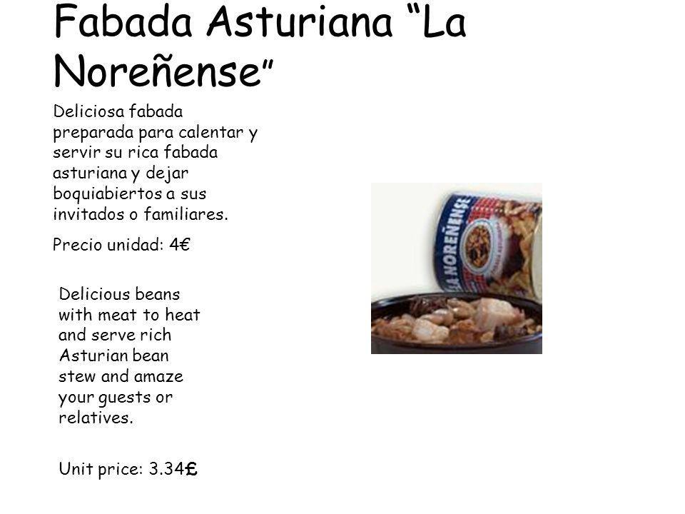 Fabada Asturiana La Noreñense Deliciosa fabada preparada para calentar y servir su rica fabada asturiana y dejar boquiabiertos a sus invitados o familiares.
