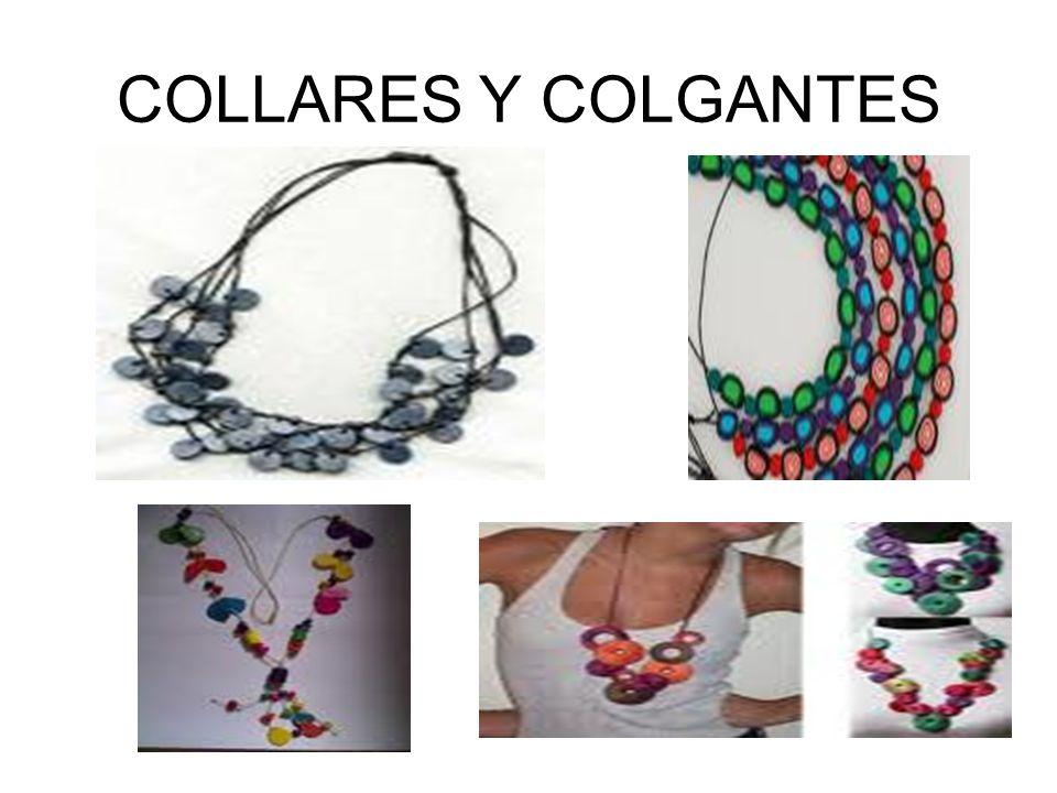 COLLARES Y COLGANTES