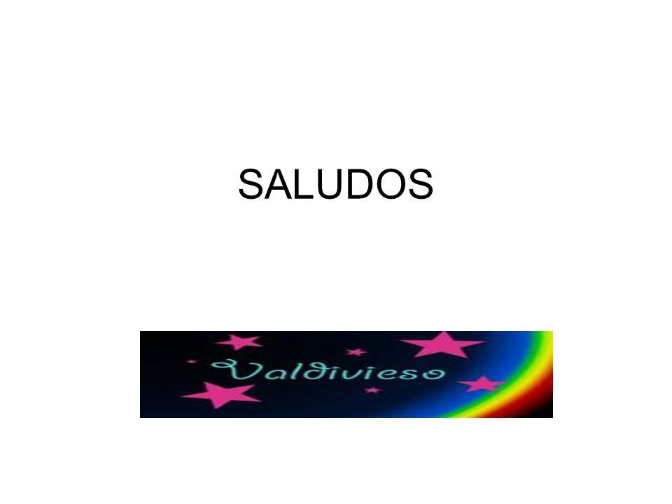 SALUDOS