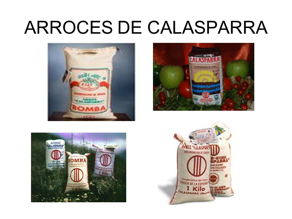 ARROCES DE CALASPARRA