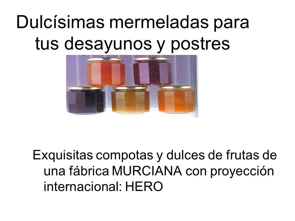 MERMELADAS Y COMPOTAS
