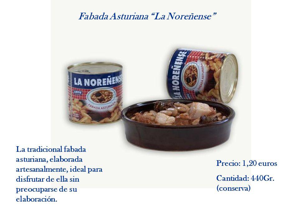 Fabada Asturiana La Noreñense La tradicional fabada asturiana, elaborada artesanalmente, ideal para disfrutar de ella sin preocuparse de su elaboració