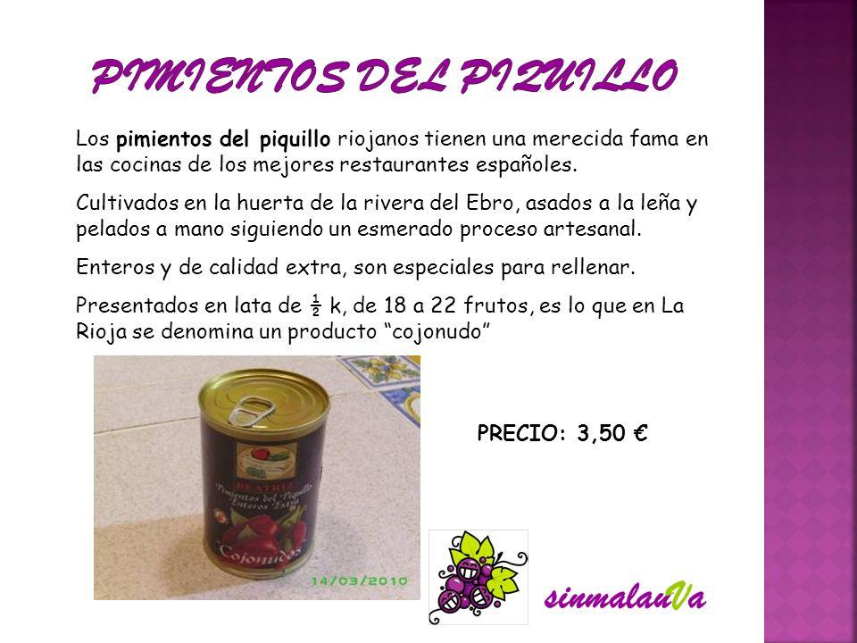 Los pimientos del piquillo riojanos tienen una merecida fama en las cocinas de los mejores restaurantes españoles. Cultivados en la huerta de la river