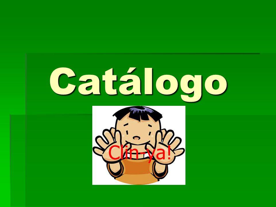 Catálogo Catálogo