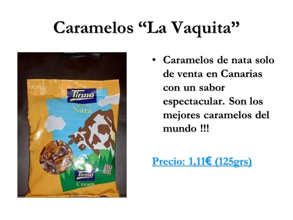 Caramelos La Vaquita Caramelos de nata solo de venta en Canarias con un sabor espectacular. Son los mejores caramelos del mundo !!!Caramelos de nata s