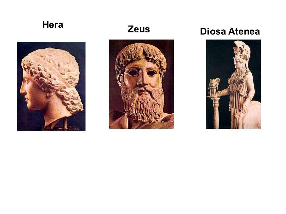 Diosa Atenea Zeus Hera