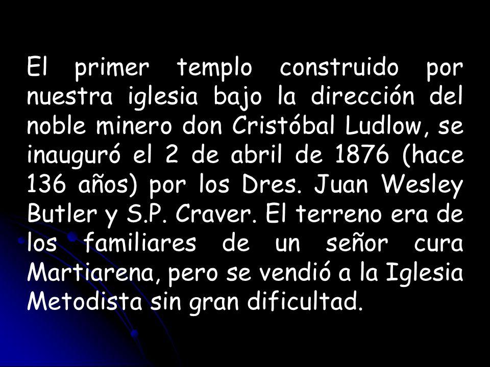 Organizada ya esta iglesia abrió nuevos campos, partiendo de Pachuca la semilla del evangelio para Tezontepec, Acayuca, Tulancingo, Real del Monte, Omitlán, El Chico, motivo por el cual vino el misionero Sr.