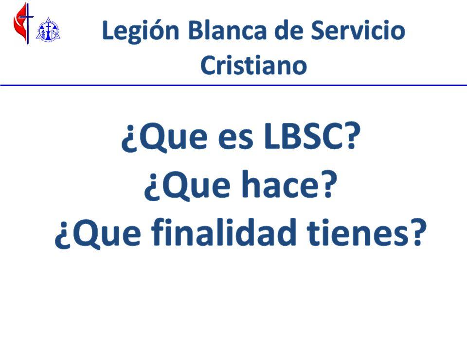 ¿Qué es la LBSC.
