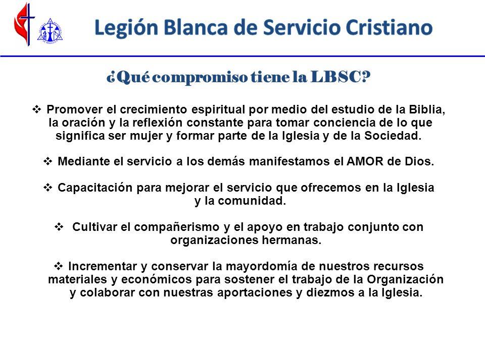 Bendiciones del ser parte de Organización LBSC Formar parte del grupo de mujeres cristianas unidas al servicio.