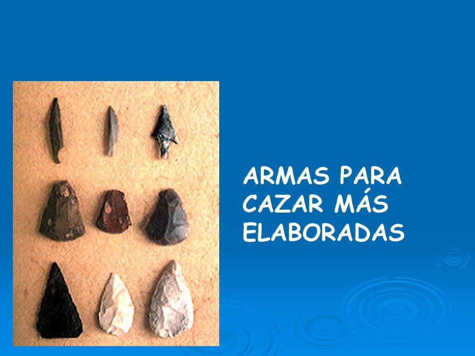 Otras herramientas de piedra
