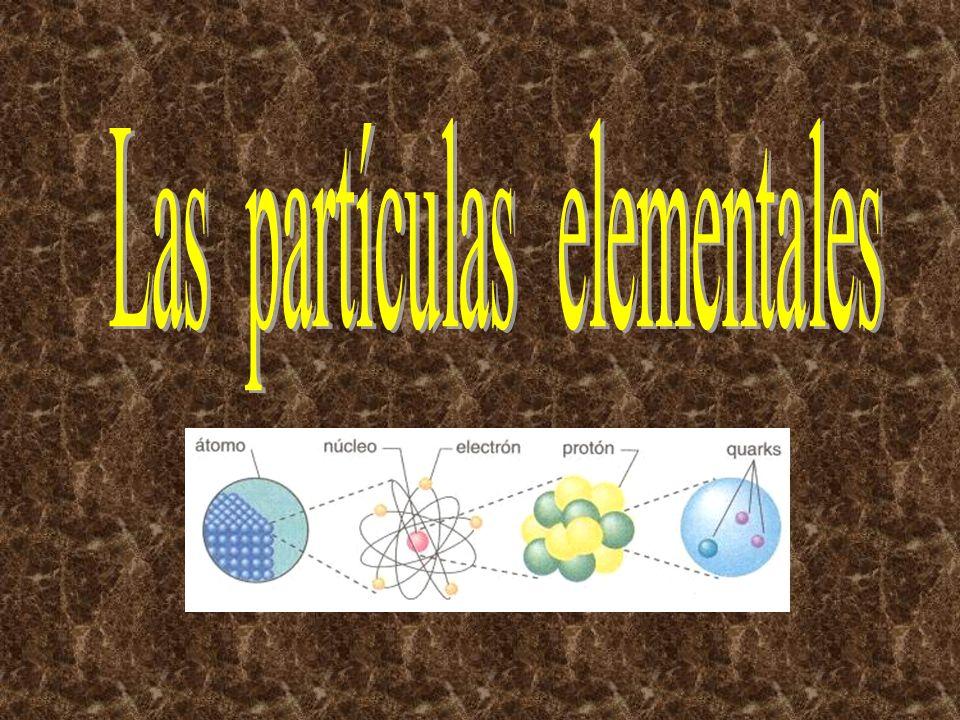 Las partículas elementales Complejo, inmenso, profuso, árido, ocupa estantes y estantes en bibliotecas y laboratorios, oculto tras barricadas de encuadernaciones, o en algunos cerebros bien dotados.
