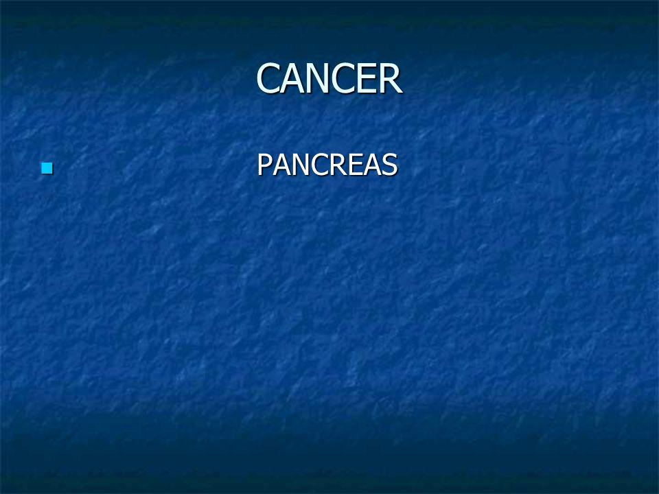 CANCER PANCREAS PANCREAS