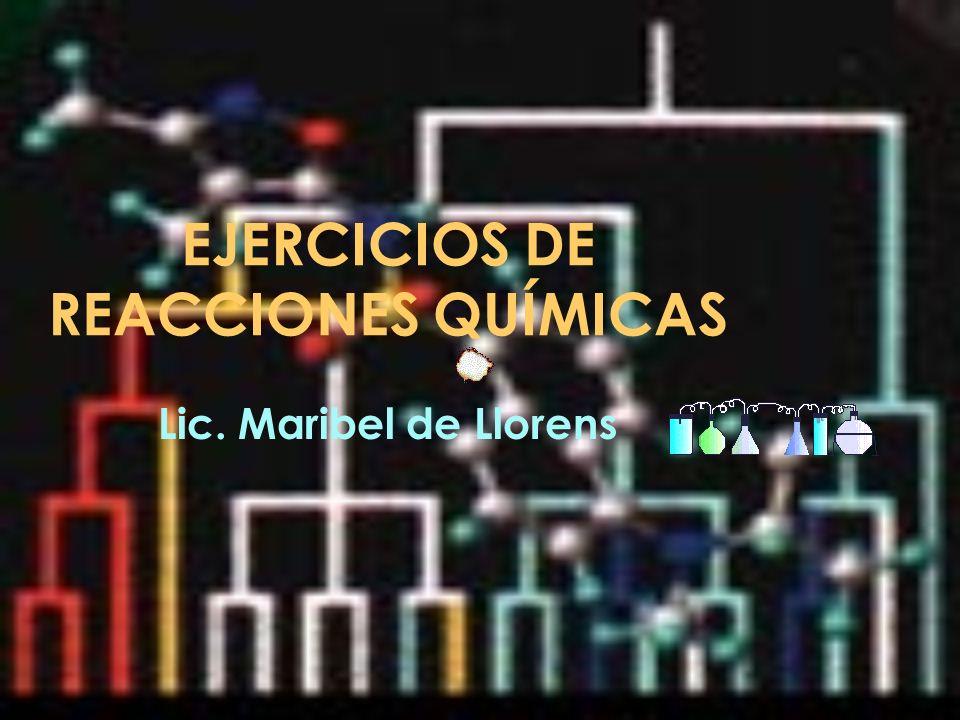 Representación de los gases en las ecuaciones químicas : Nitrógeno = N 2 Hidrógeno= H 2 Cloro= Cl 2 Oxígeno= O 2 Bromo= Br 2 Yodo= I 2 Moléculas diatómicas Prof.