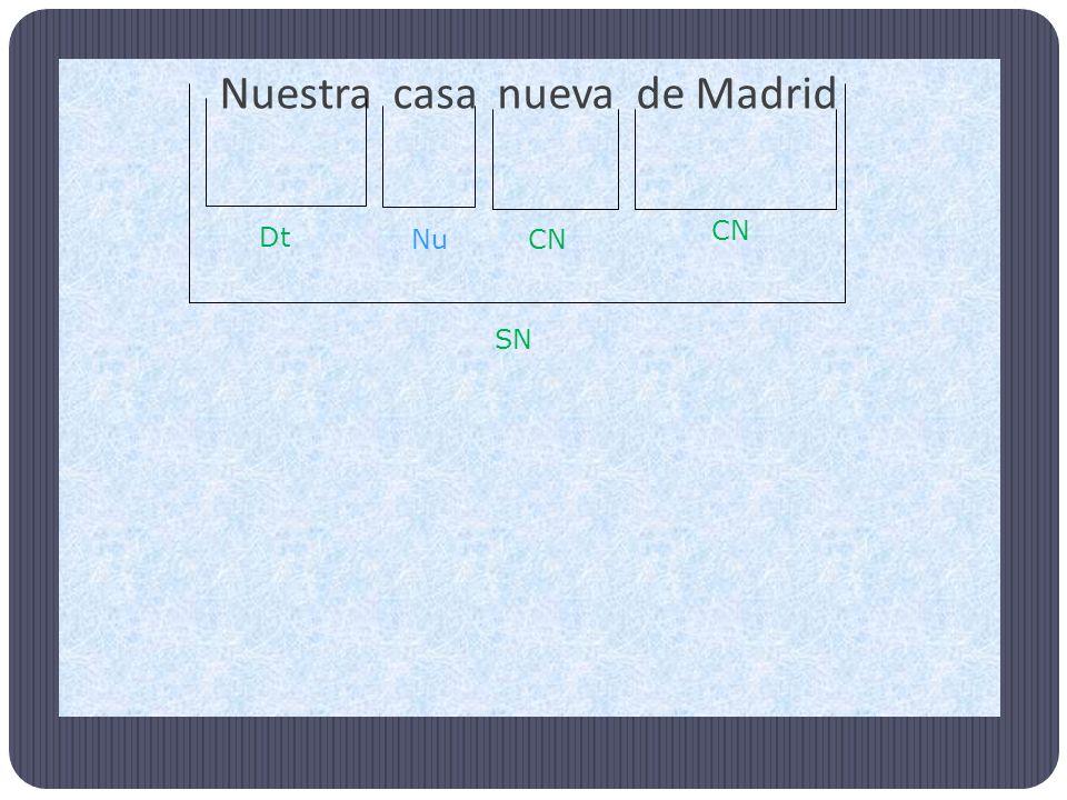 Nuestra casa nueva de Madrid SN Nu Dt CN