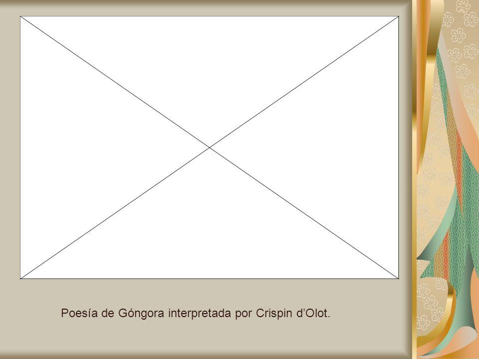 Poesía de Góngora interpretada por Crispin dOlot.