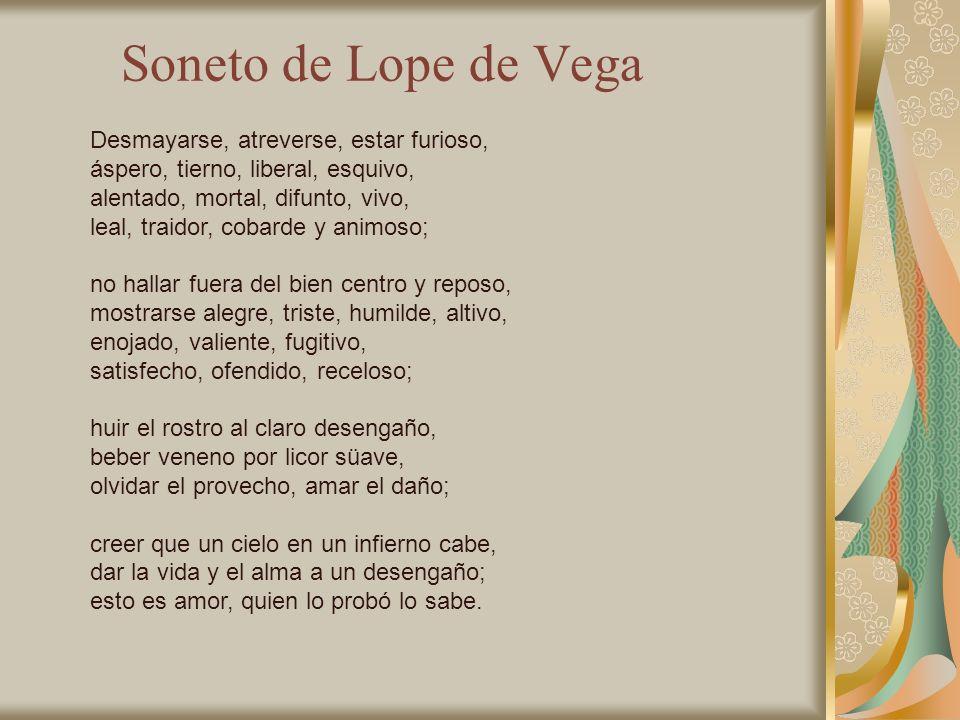 Principales tipos de poemas II Soneto: Compuesto por 2 cuartetos y dos tercetos.