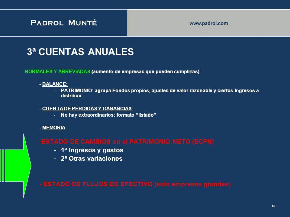 14 2ª NORMAS de REGISTRO y VALORACION (NOREVA) -18ª SUBVENCIONES DONACIONES Y LEGADOS: similar se incorporan al Patrimonio. -19ª COMBINACIONES DE NEGO