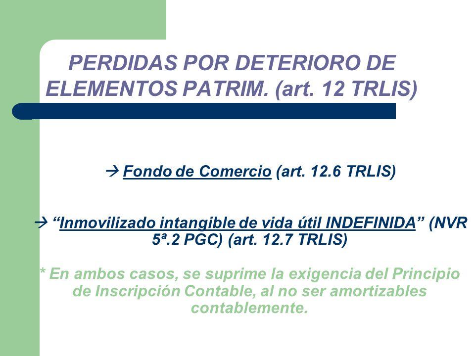 Fondo de Comercio (art.