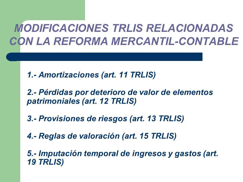1.- Amortizaciones (art.