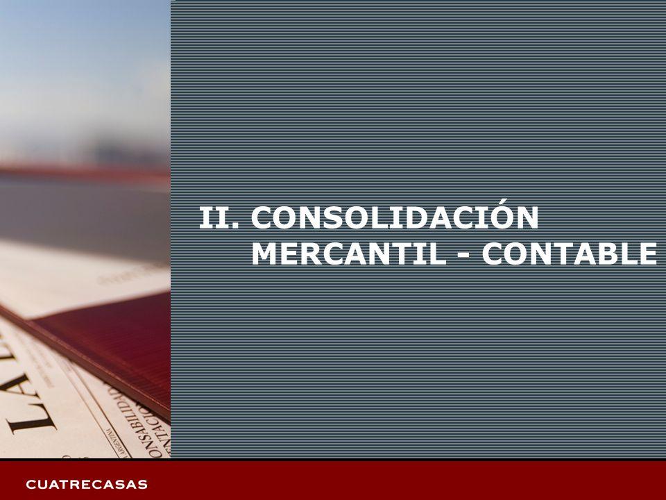 Página 5 II.CONSOLIDACIÓN MERCANTIL - CONTABLE