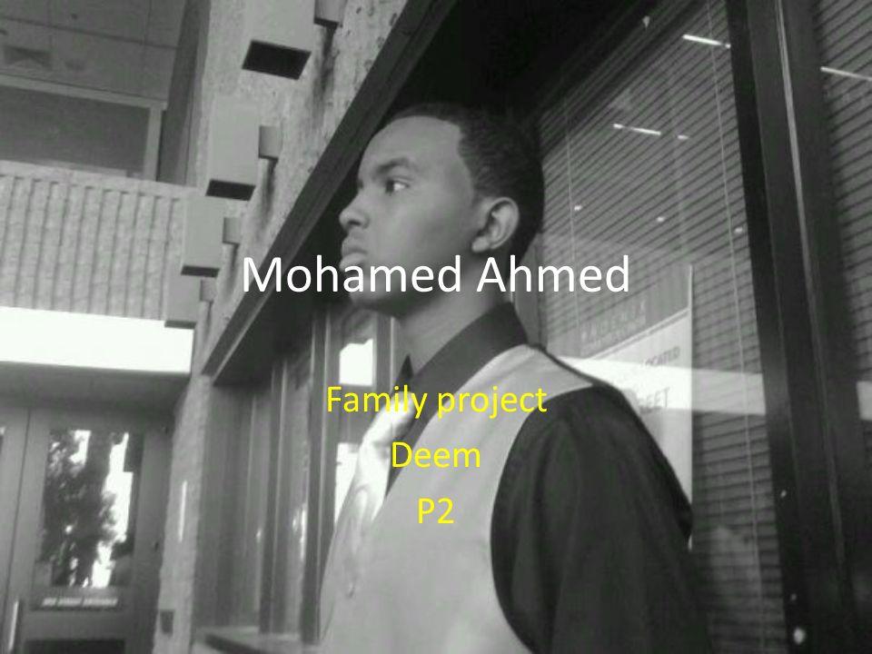 Yo Form Hola.Me llamo Mohamed. Yo soy de Ohio. Yo tengo diesysies anos..