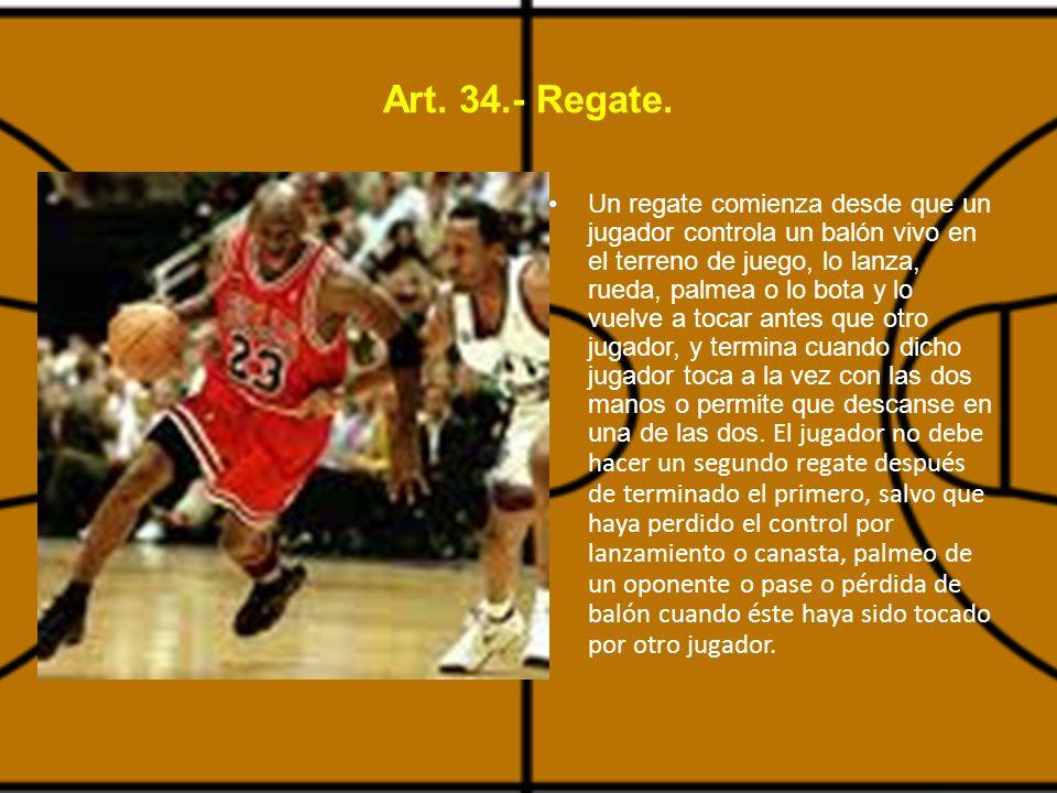 Art.34.- Regate.