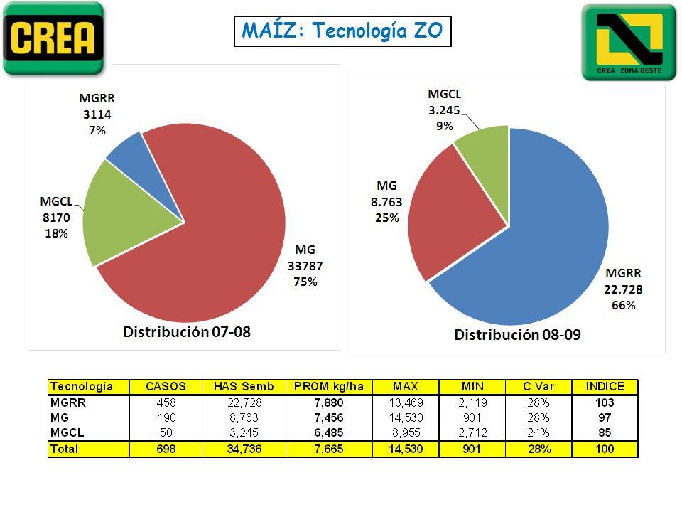 MAÍZ: Tecnología ZO