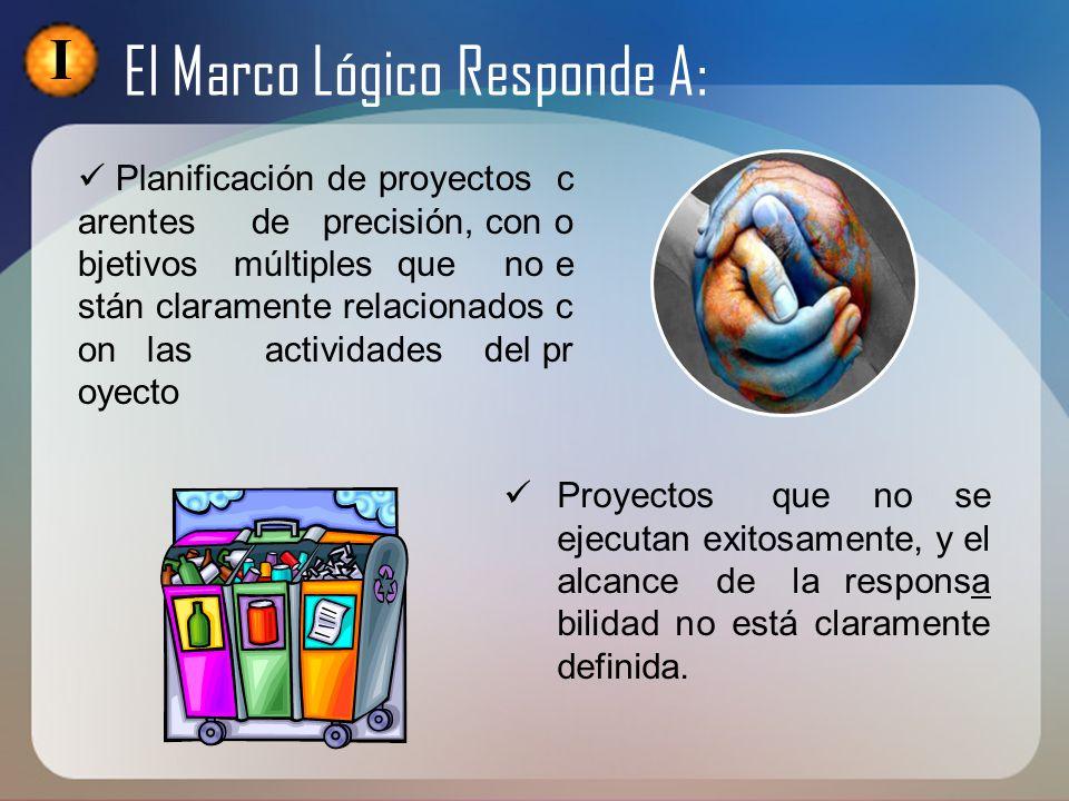 II Conceptos Básicos De La Matriz Marco Lógico Del Proyecto MATRIZ DEL MARCO LOGICO Se utiliza en todas las etapas y por ello debe ser modificada y mejorada a lo largo del diseño y ejecución.
