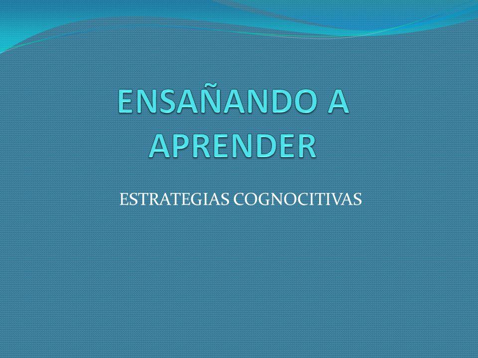 ESTRATEGIAS COGNOCITIVAS
