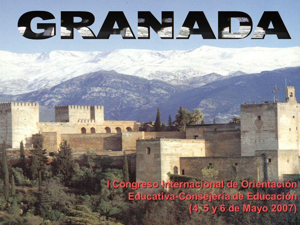 I Congreso Internacional de Orientación Educativa-Consejería de Educación (4, 5 y 6 de Mayo 2007)