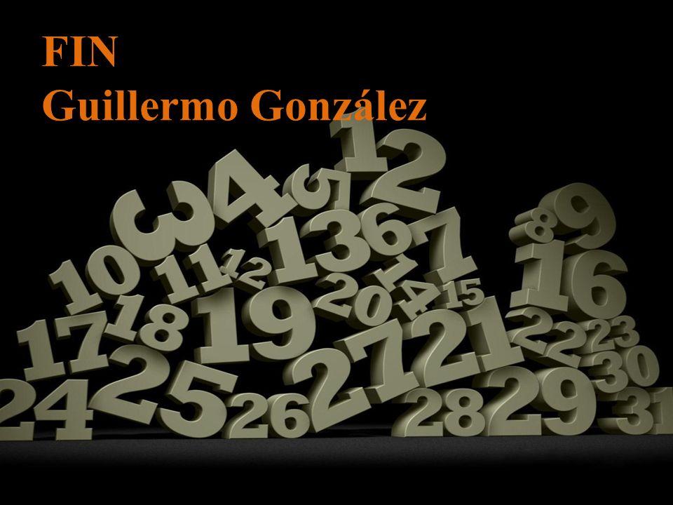 FIN Guillermo González