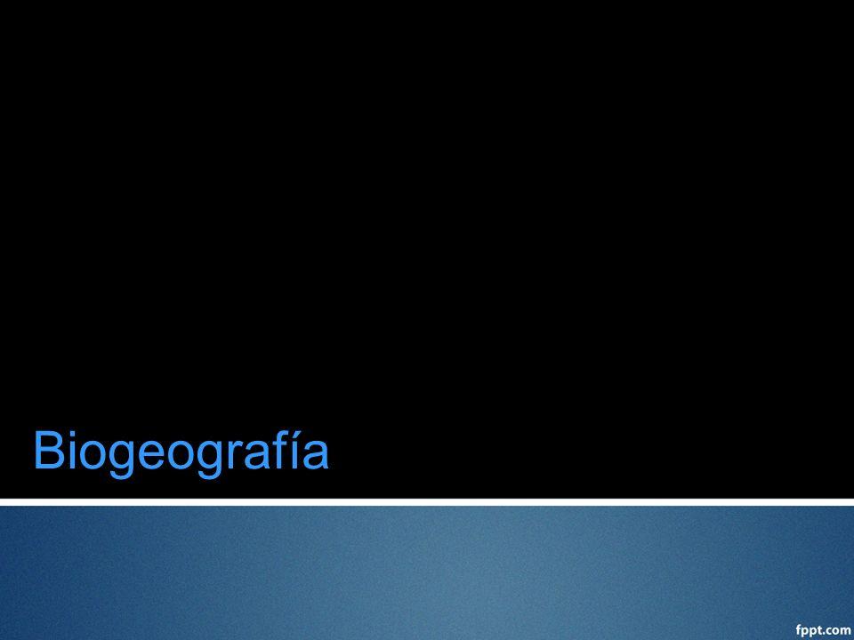 Biogeografía