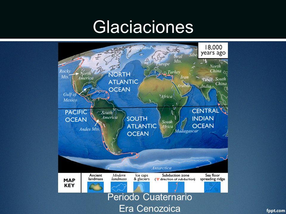 Glaciaciones Periodo Cuaternario Era Cenozoica