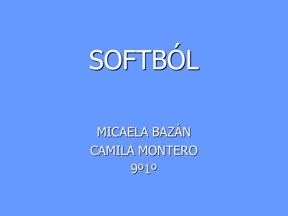 SOFTBÓL MICAELA BAZÁN CAMILA MONTERO 9º1º