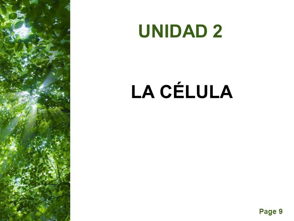 Page 9 LA CÉLULA UNIDAD 2