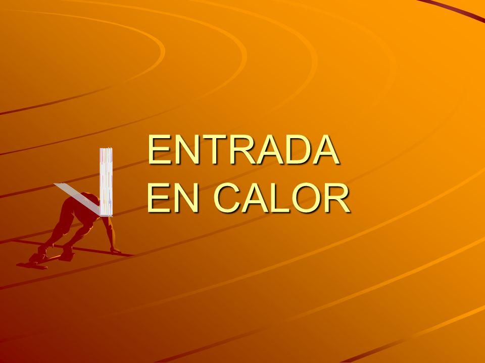 ENTRADA EN CALOR