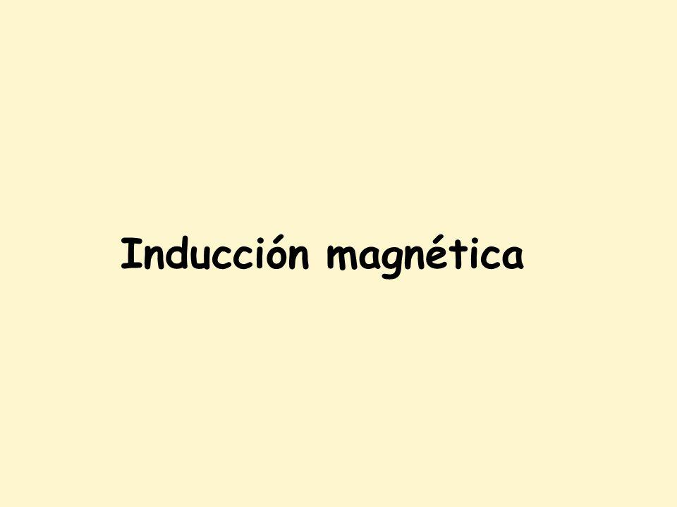 Inducción magnética